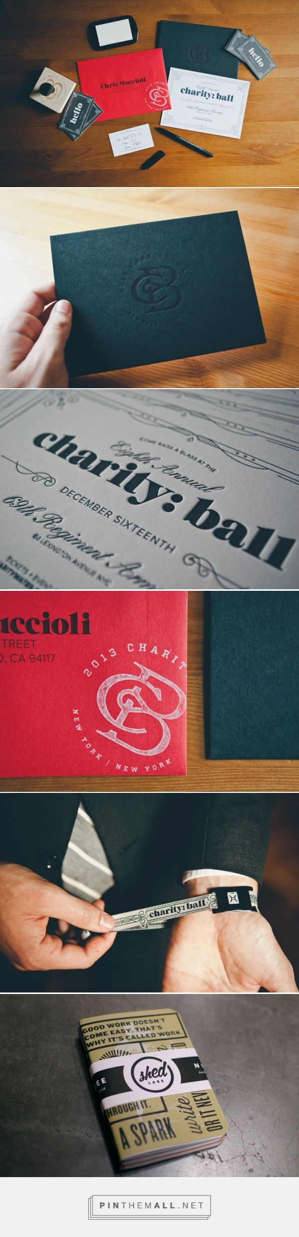 Charity: Ball Invitations by Mike Smith | Graphic Design—Branding ...