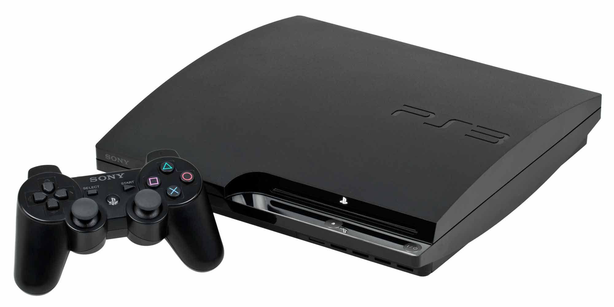 Refurbished Sony Playstation 3 Slim 320 Gb Charcoal Black Console Walmart Com Playstation Console Sony Playstation