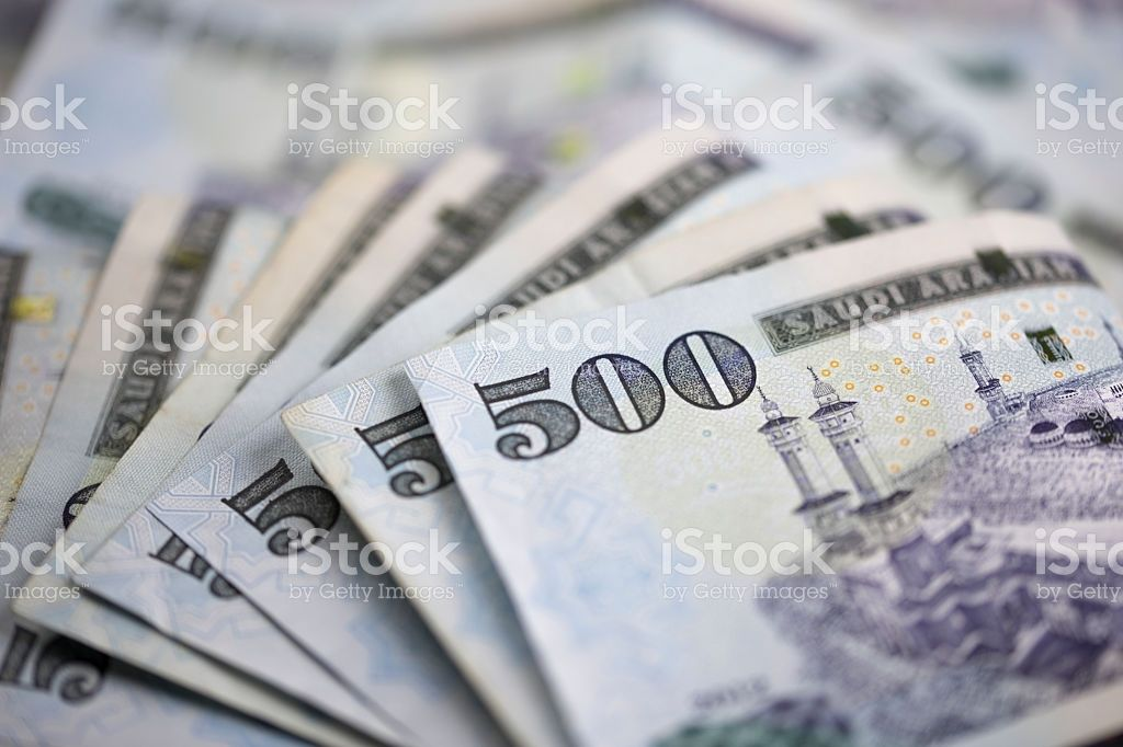 Saudi Riyal Is The Currency Of Saudi Arabia Country Stock Images Free Notes Royalty Free Stock Photos