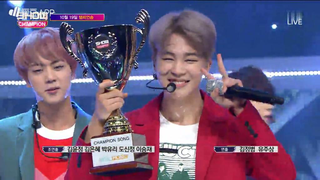 Show Champion #BTS #방탄소년단 #피땀눈물 #피땀눈물1stWin #BloodSweatTears1stWin