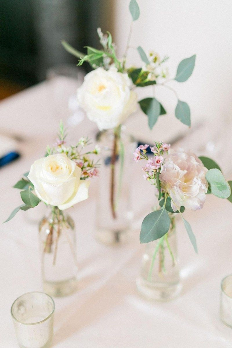 Wedding decoration ideas simple  Simple spring wedding centerpieces ideas   Wedding Gossip
