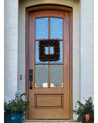 Miranda 6 Lite Arch Top Single Entry Door Single Entry Doors Arched Front Door Entry Doors