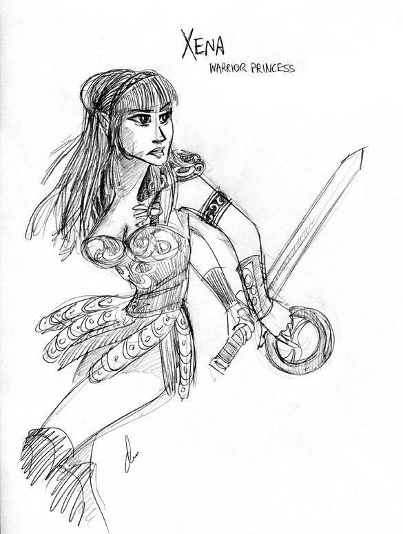 Pin By Ana Gomez On Geek Nerd Xena Warrior Princess Warrior Princess Princess Tattoo