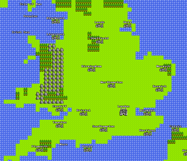 8-Bit map of the UK. And my affair with Google Maps ... on google maps distance measuring tool, google maps super, google maps drone, google maps key, google maps christmas, google maps world, google maps water, google maps apple, google maps house, google maps feel, google maps classic, google maps halloween, google maps pranks, google maps challenge pokemon, google maps april fools, google maps nintendo, google maps new orleans louisiana, google maps art, google maps sega,