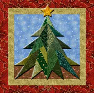 Tree Quilt Patterns Free Christmas Paper Piecing Patterns Free