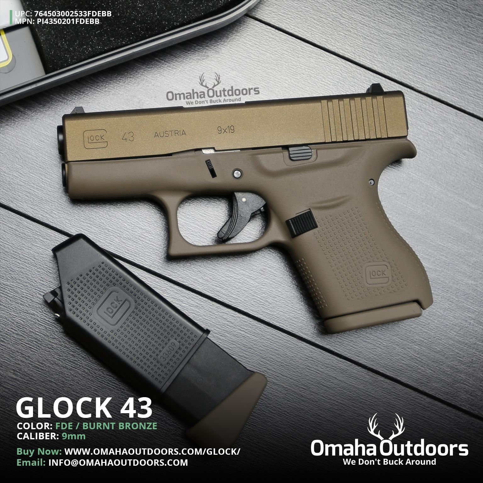 Image result for glock 43 | Glock 43 Holsters and Gear | Pinterest ...