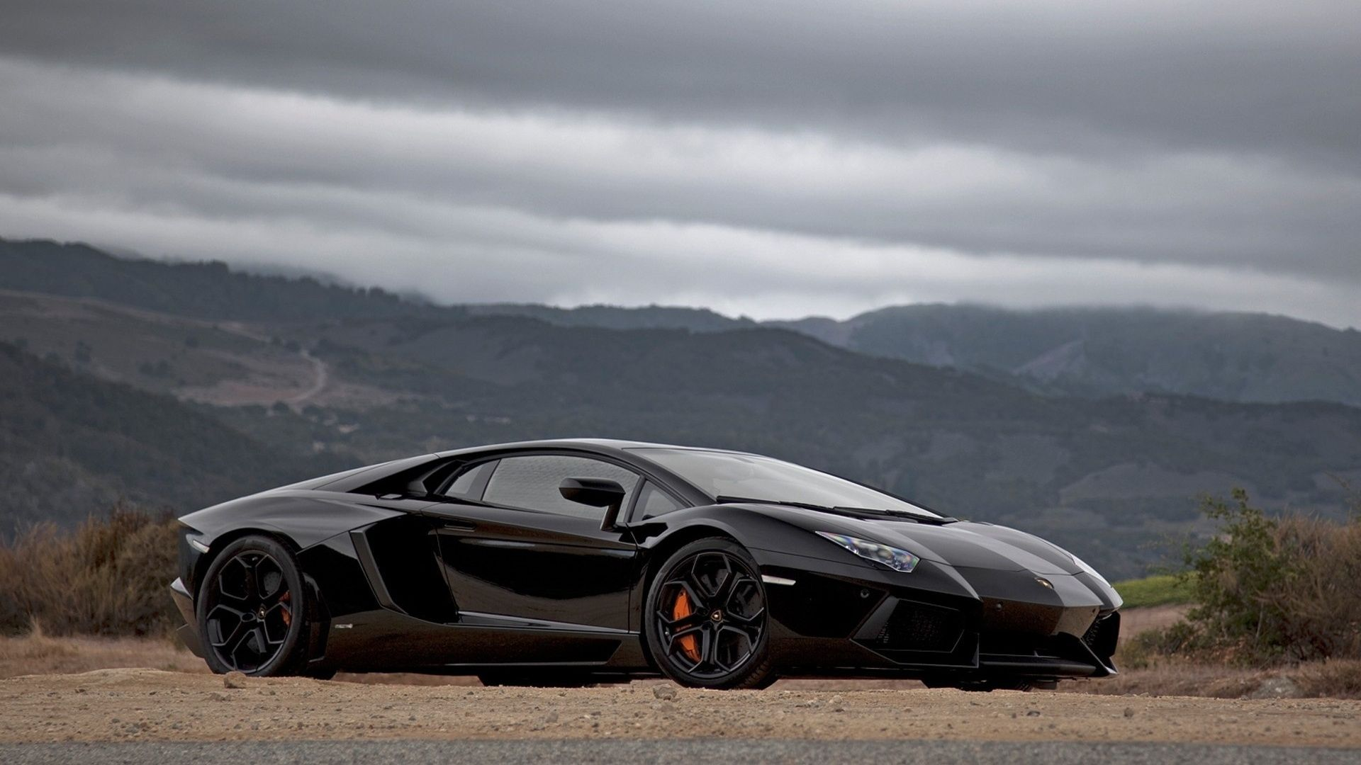 Lamborghini Aventador Black 1080p Hd Wallpaper 1920 1080 Pixel