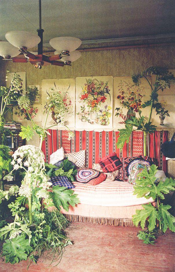 boho decor & botanicals | bohemian home inspiration