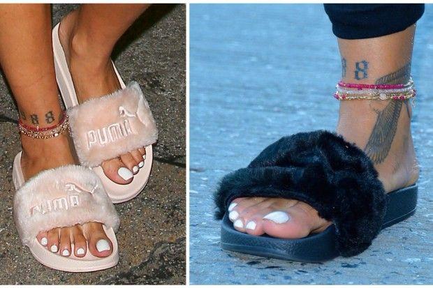 new puma slippers rihanna