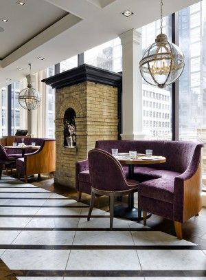 The Chase Restaurant Rooftop Bay Street Toronto Traditional Design Custom