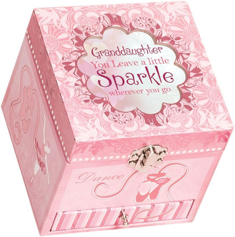 Granddaughter Jewelry Box Mesmerizing Ballerina Granddaughter Jewelry Box  Products  Pinterest  Products