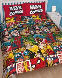 Marvel Comics Duvet Set Reversible Defenders 200 x 200 cm