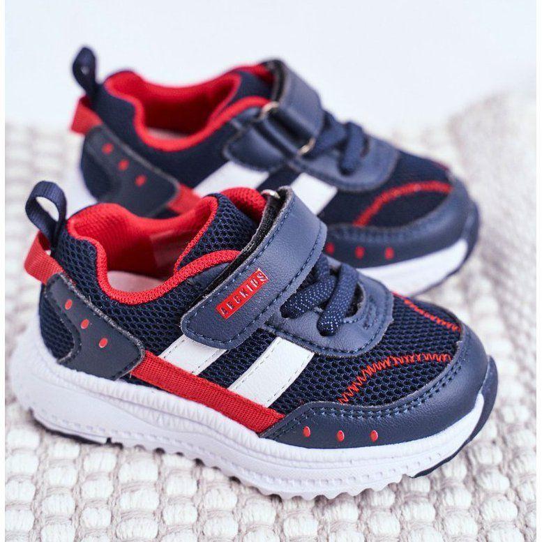 Sportowe Buty Dzieciece Granatowe Abckids B933104083 Baby Shoes Shoes Fashion