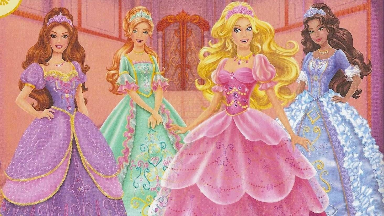 #4 barbie doll