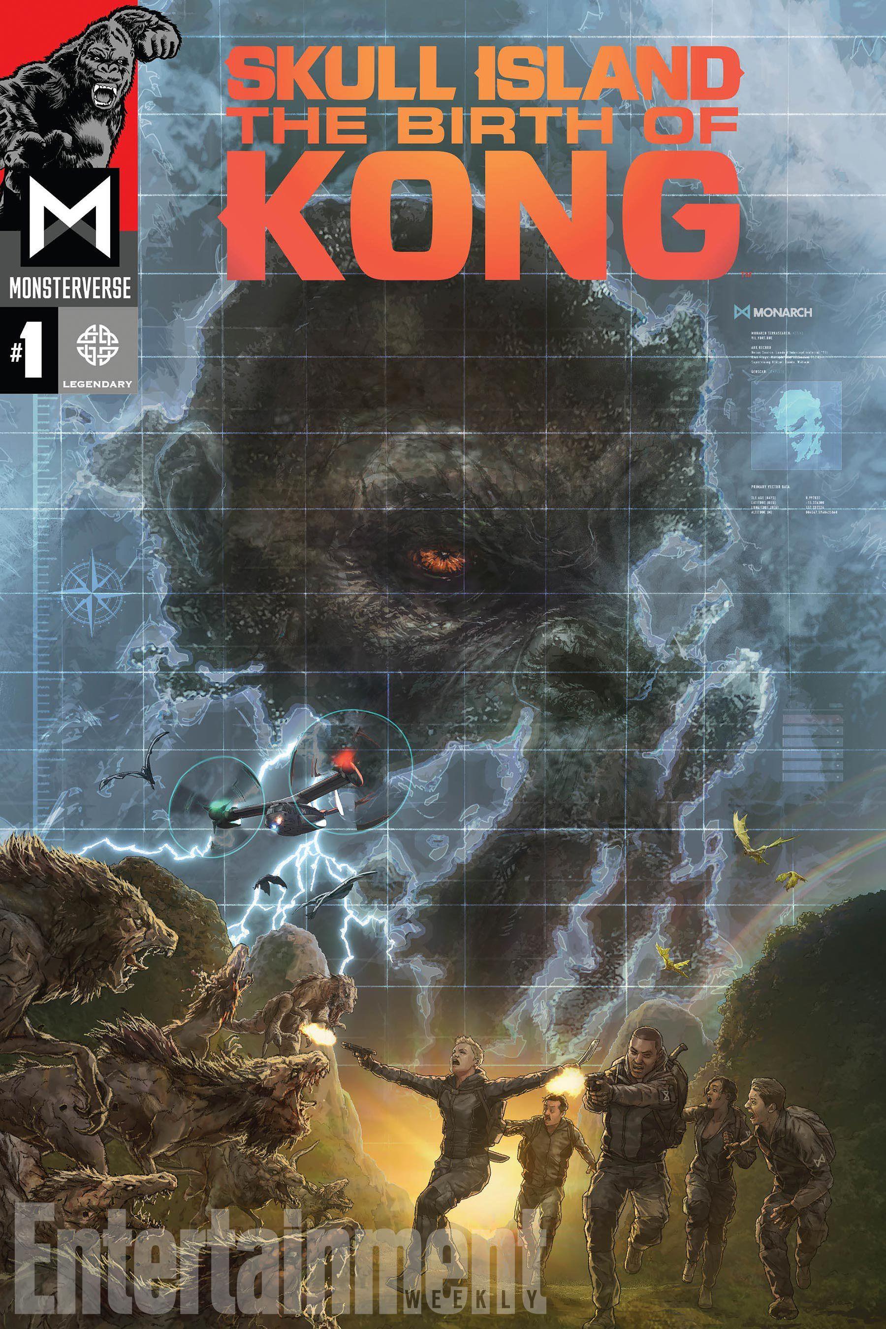 birth of kong u0027 comic series connects the dots of u0027skull island