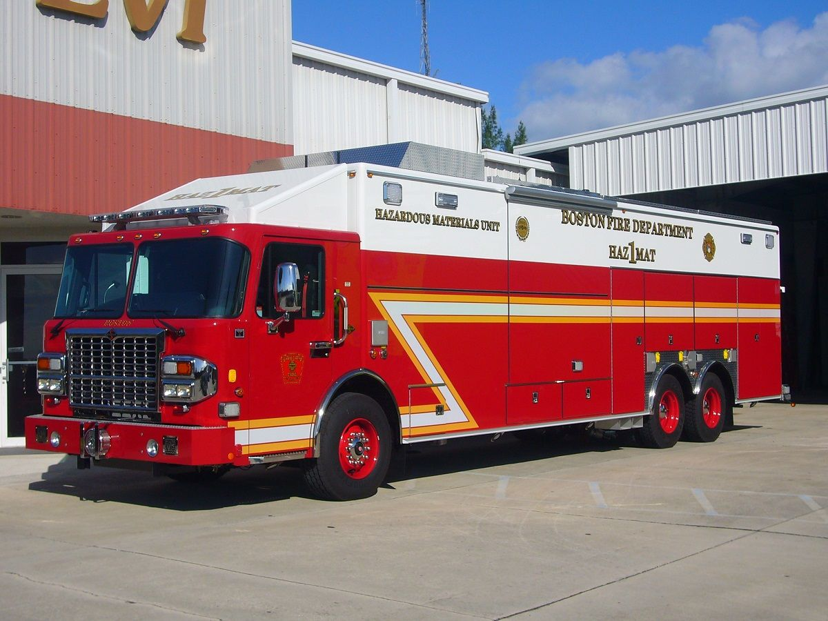 Boston Fire Department Heavy Rescue Squad BOSTON FIRE