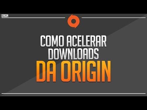 Como acelerar Descargas de Origin al 100% - YouTube