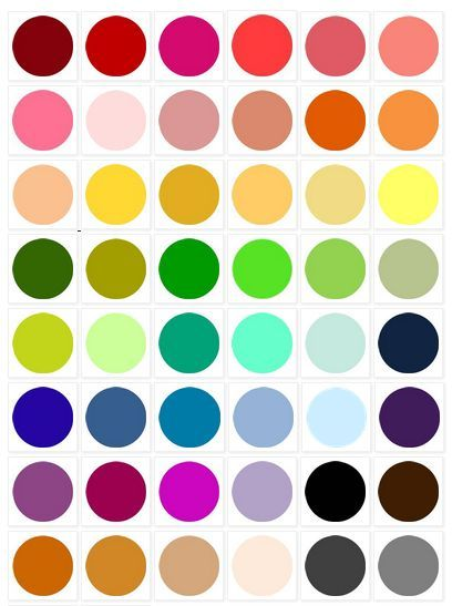 LOVE color? Get Inspired! Browse our color palettes here ☛ http://ow.ly/8GBhZ
