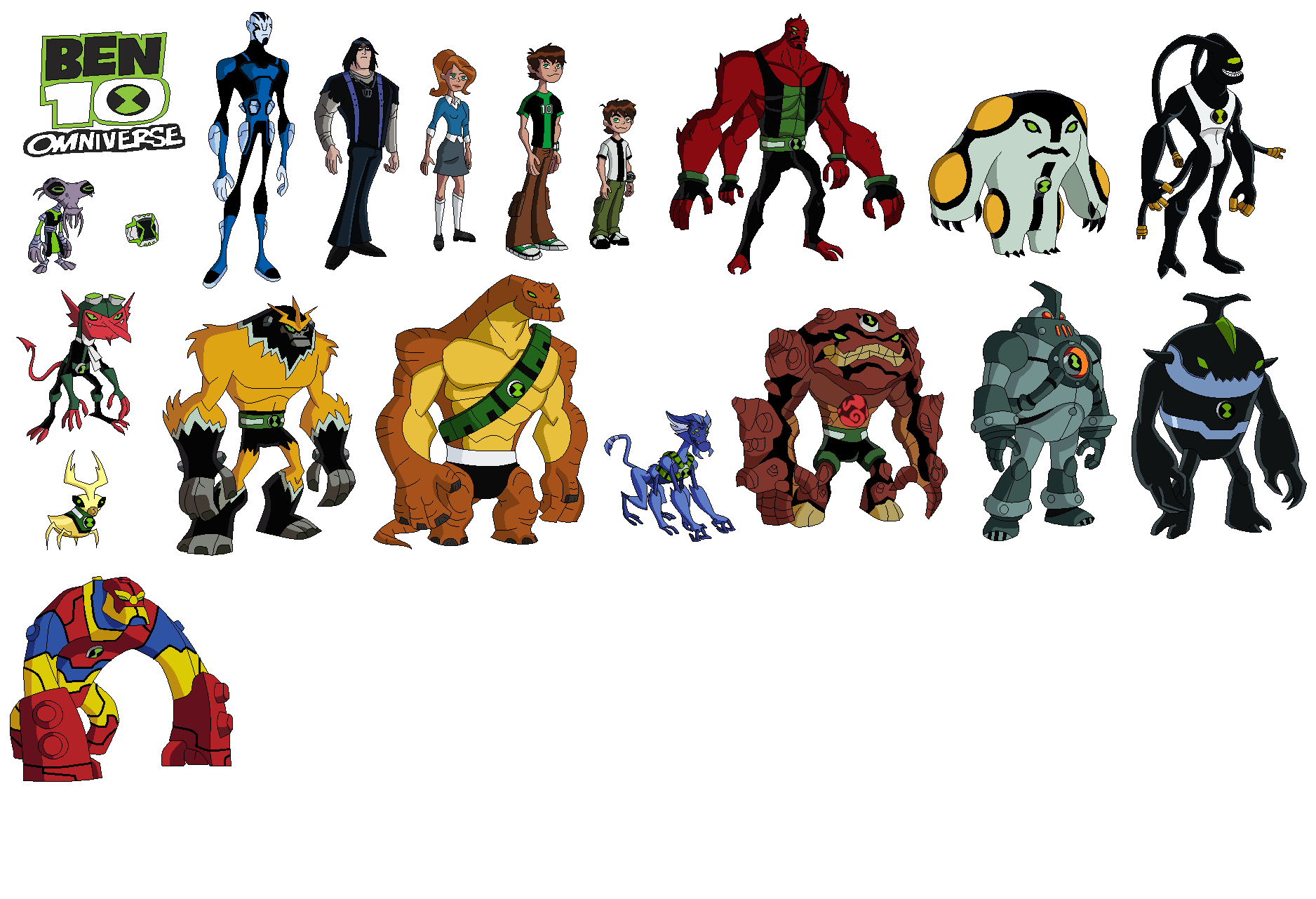 Ben 10 Omniverse Aliens. Got to like them. Don\'t you?   Ben 10 ...