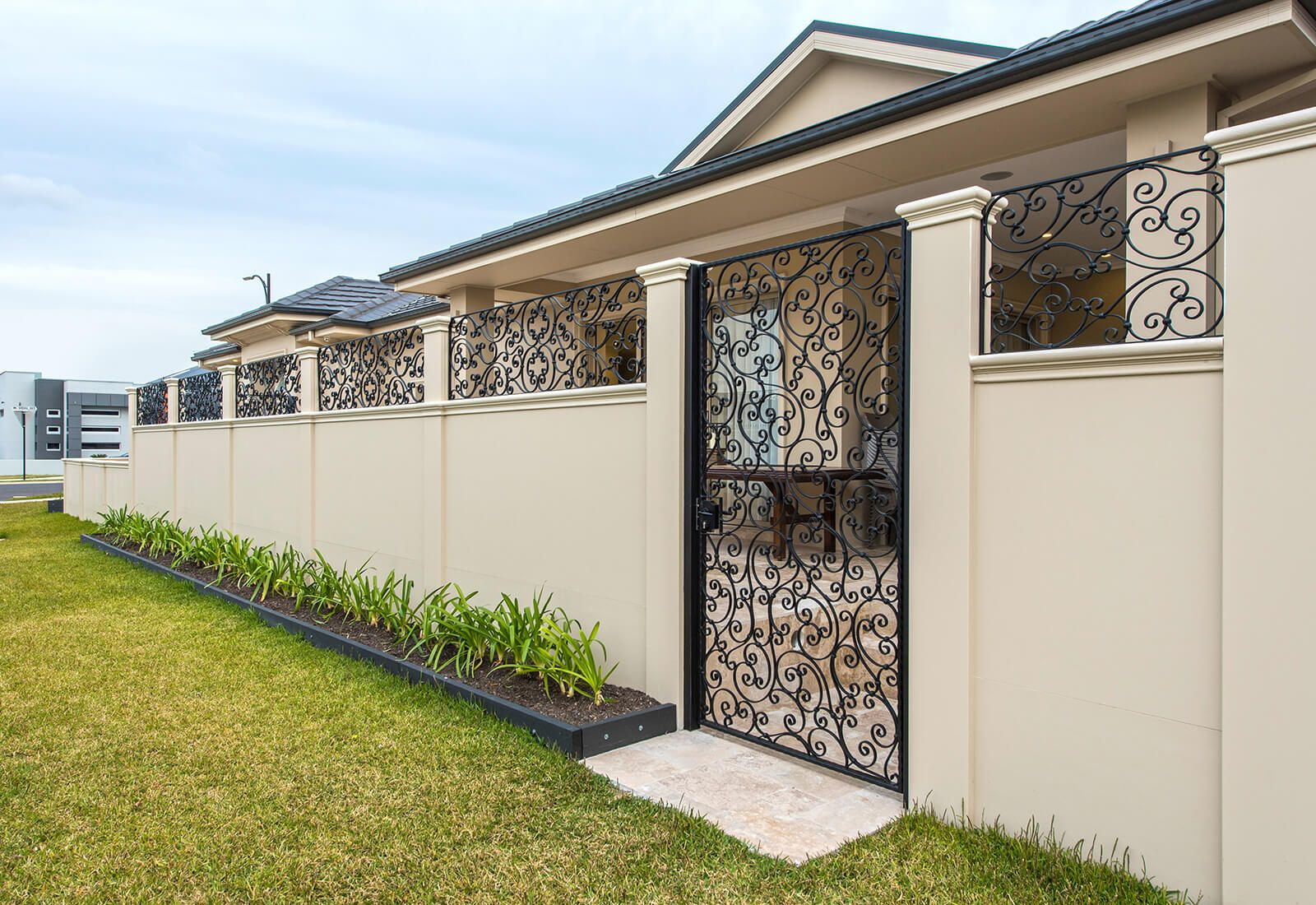 Gallery - Residential and Commercial Walls & Fences in 2019 | Gates
