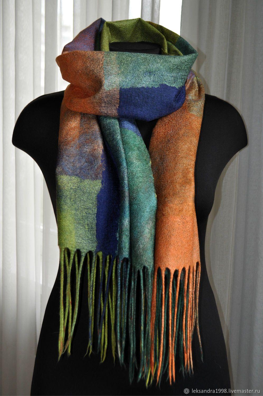 поступил идеи для шарфа валяние фото можете найти