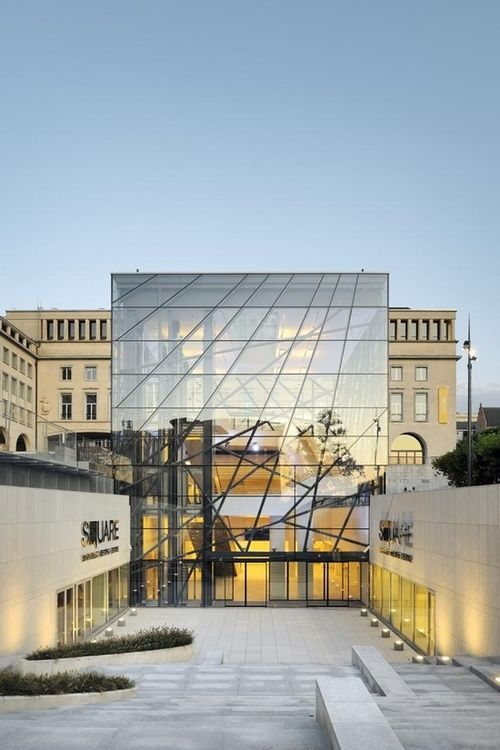 Ttraditional & Modern #Architecture Styles Together ✏ SQUARE Brussels Meeting Center