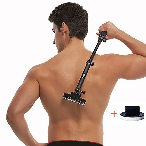 Back shaver body grooming kit for back hair removal do it yourself back shaver body grooming kit for back hair removal do it yourself with body hair shaver 2nd generation 5 blades per count you can get additional details solutioingenieria Choice Image