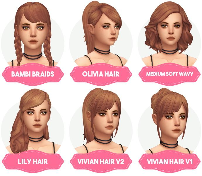10 Top Fall Hairstyles Inspired by Fashion Shows | Sims, Clay and ...