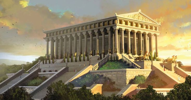Reconstructions Of The Seven Wonders Of The Ancient World Reconstructions Of The Seven Wonders Of The Ancient World