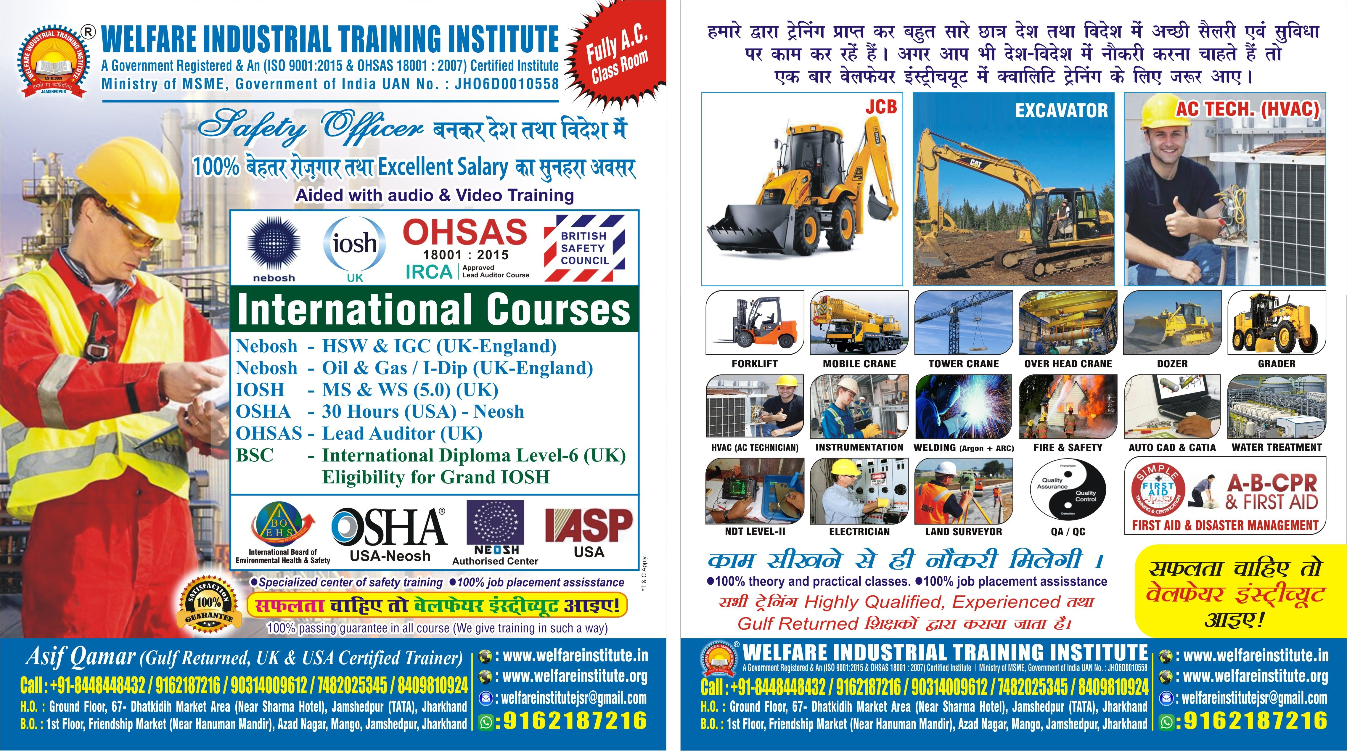 Safety officer Course in India. Get Special discounts on