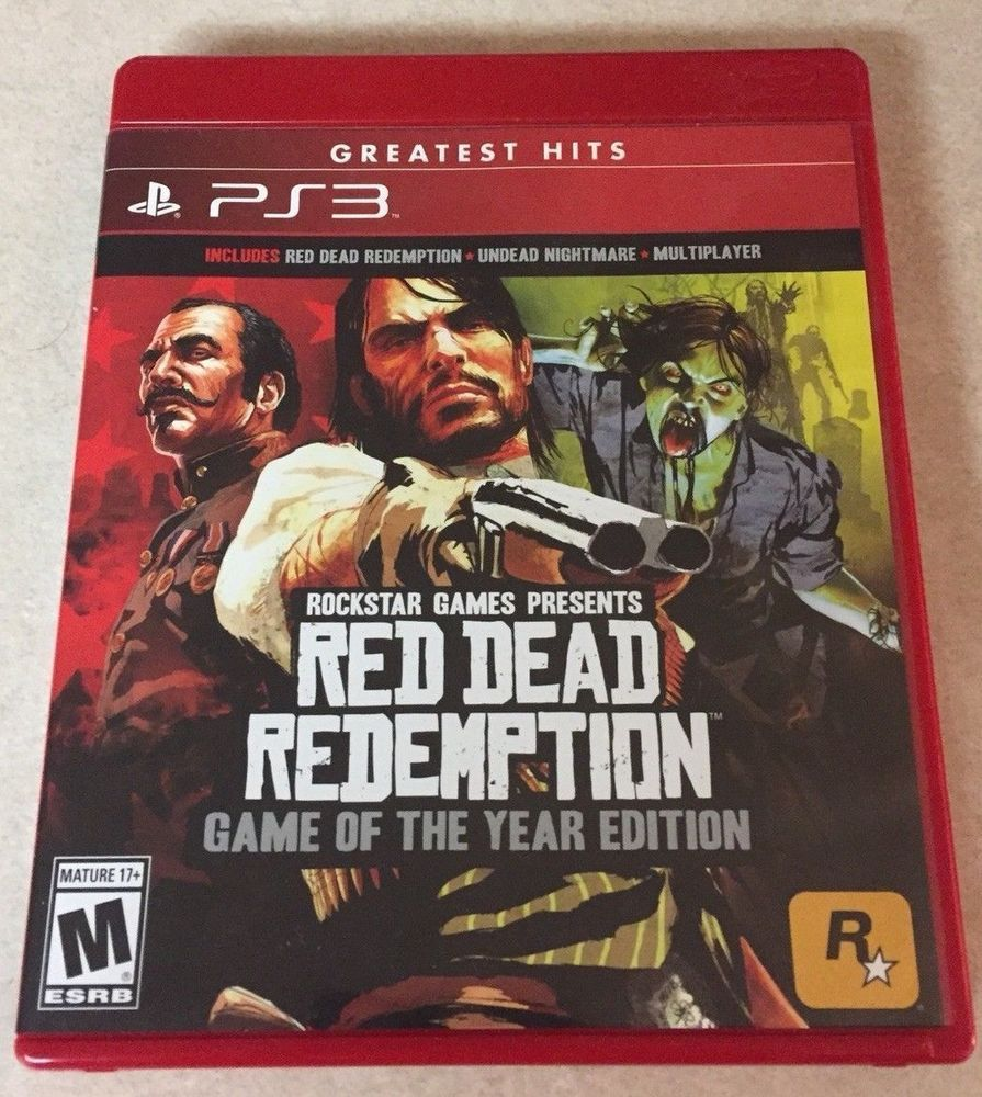 Red Dead Redemption Game Of The Year Edition Playstation 3 Ps3