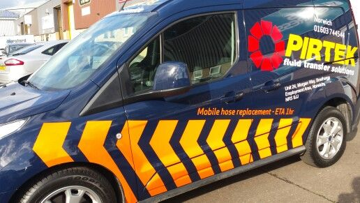 PIRTEK vehicle reflective vinyl