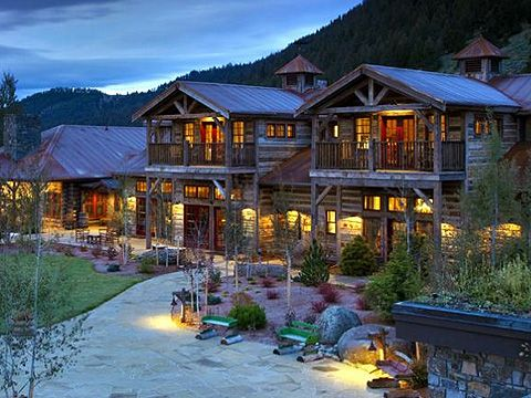 Ranch At Rock Creek Montana Luxury Rustic Dude Ranch Www