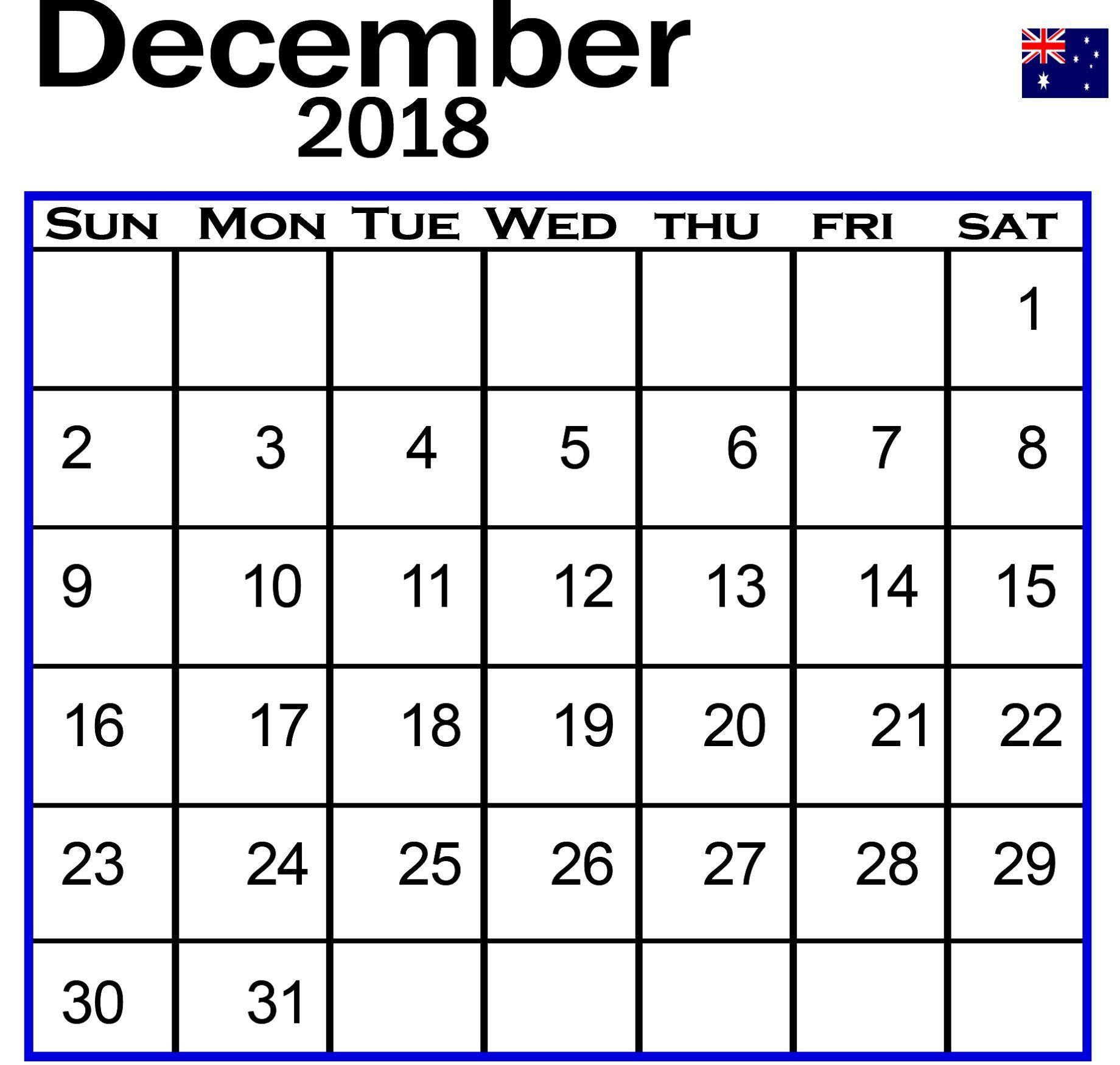 december 2018 calendar printable calendardecember2018