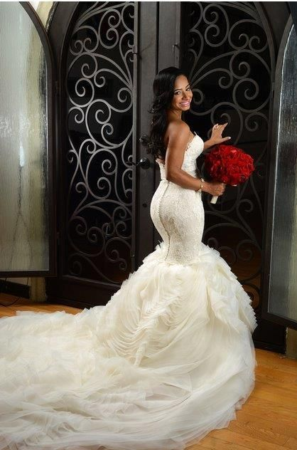 962ce17bef0 THIS IS THE DRESS! Lazaro 3201 6 find it for sale on  PreOwnedWeddingDresses.com