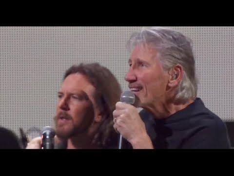 Pearl Jam Eddie Vedder Pink Floyd Comfortably Numb Live