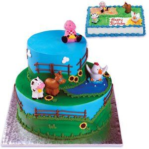 Bakery Crafts Farm Animal Cake Toppers Find out more about the
