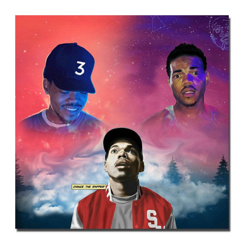 6 39 Chance The Rapper Acidrap 10 Day Coloring Book Album Silk