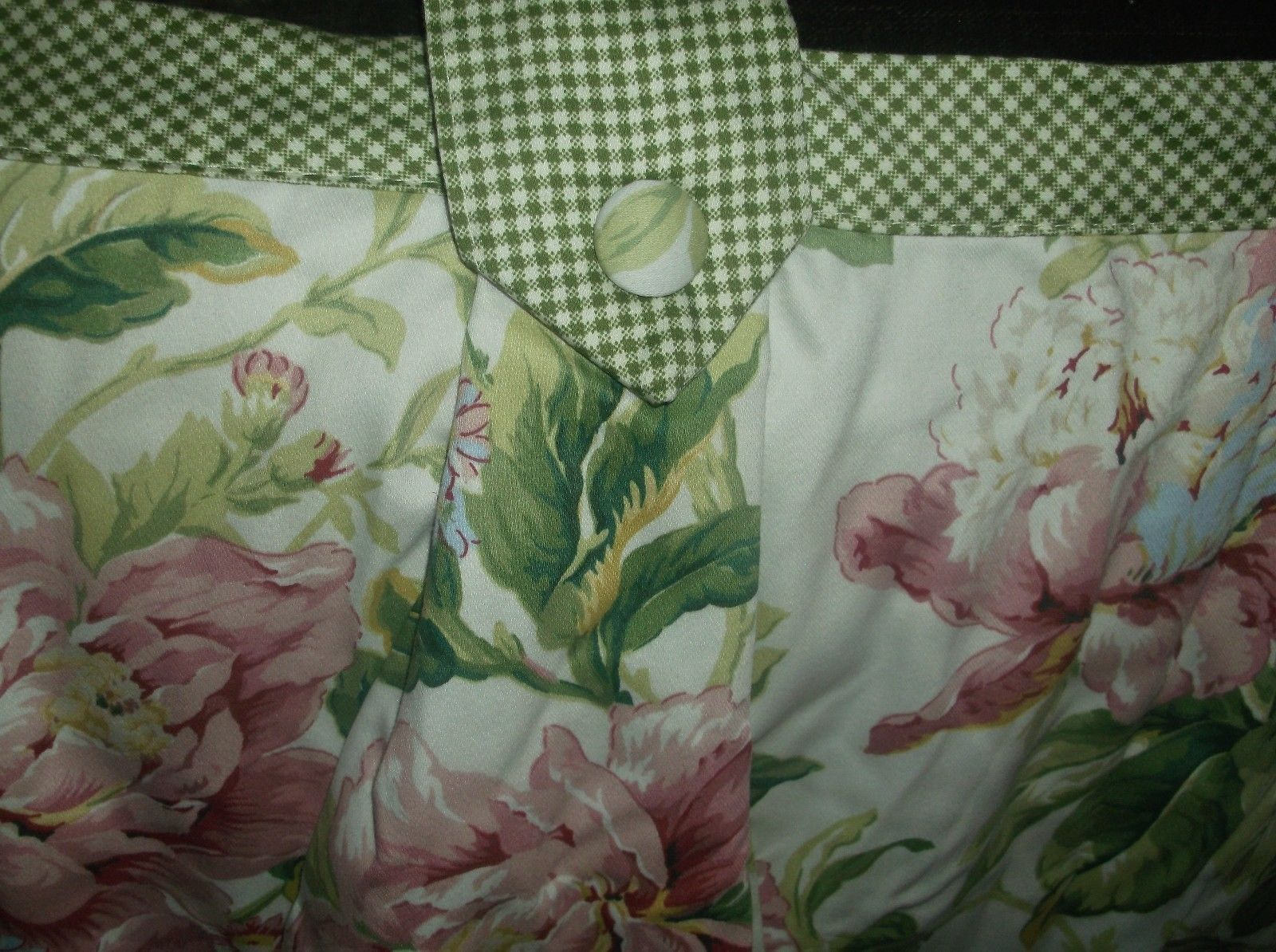 Waverly Valance Clarissa Valance Pink Florals With Gingham