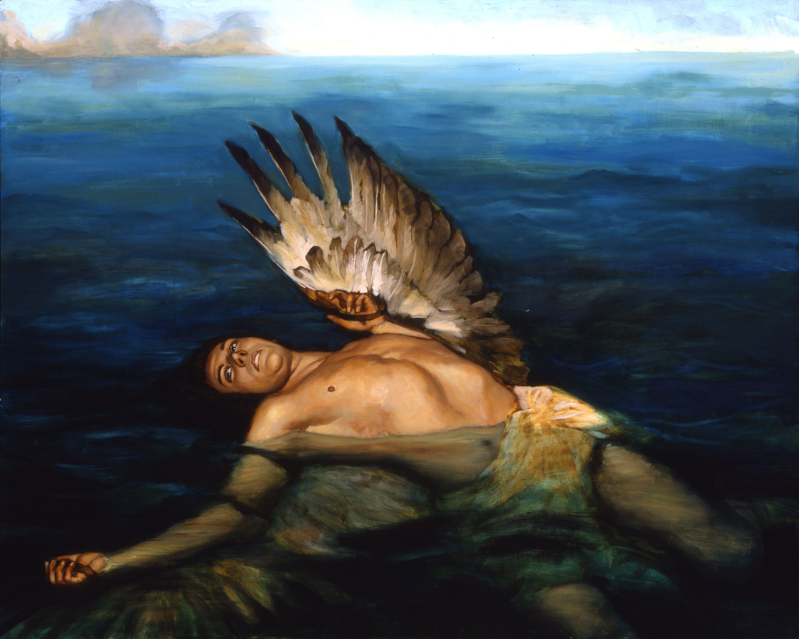 Image result for icarus drowning painting angel
