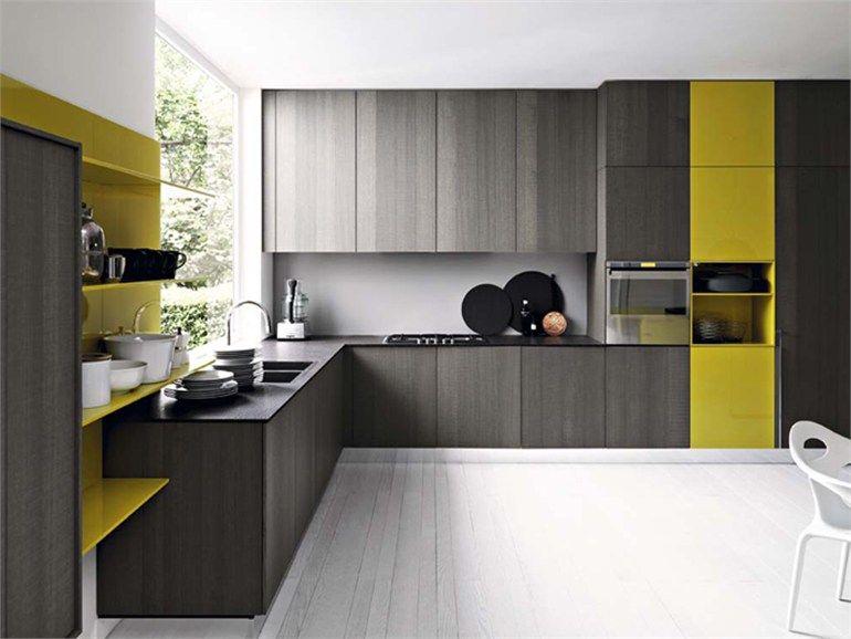 designer kuche kalea cesar arredamenti harmonischen farbtonen, fitted kitchen with island kalea - cesar arredamenti | architects, Design ideen