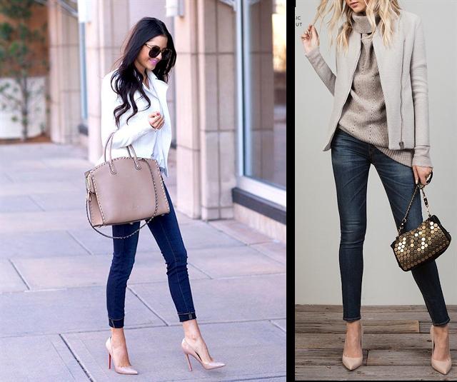 Pin de perly judith en en mi blog pinterest jeans moda outfits y moda - Con 2 tacones ...
