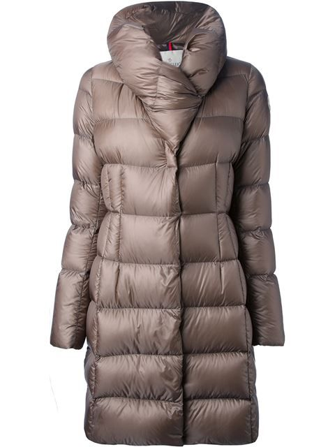 find Brand Womens Long Padded Coat