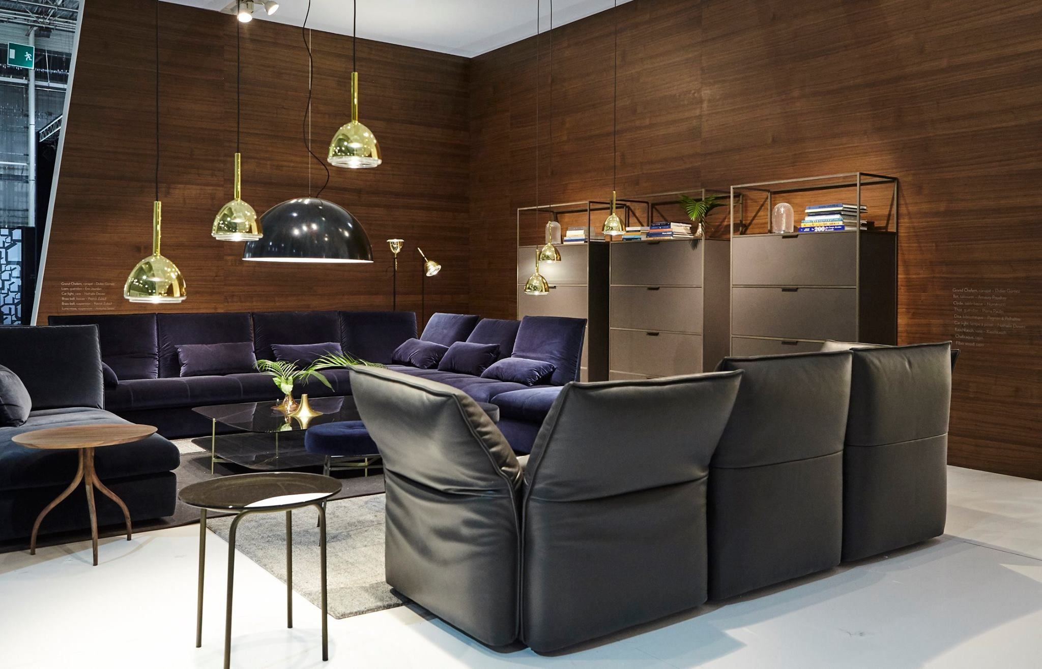 ligne roset at maison objet 2017 view highlights of the ligne roset s booth from the maison. Black Bedroom Furniture Sets. Home Design Ideas