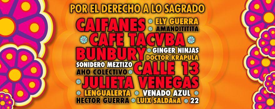 Wirikuta Fest 2012 Por el Derecho a lo Sagrado :: Sitio Oficial :: - Inicio