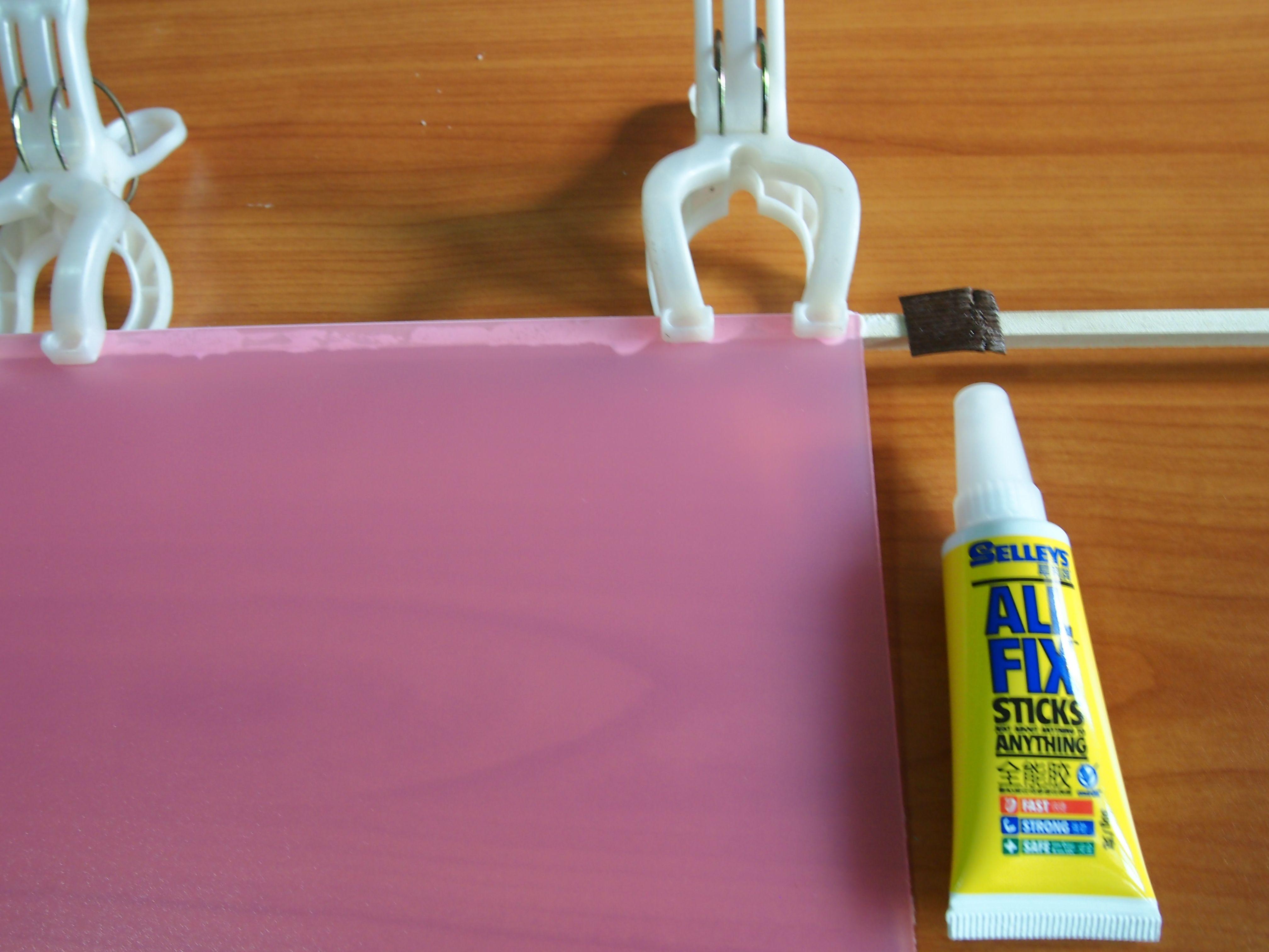 Glue Acrylic Sheets Table