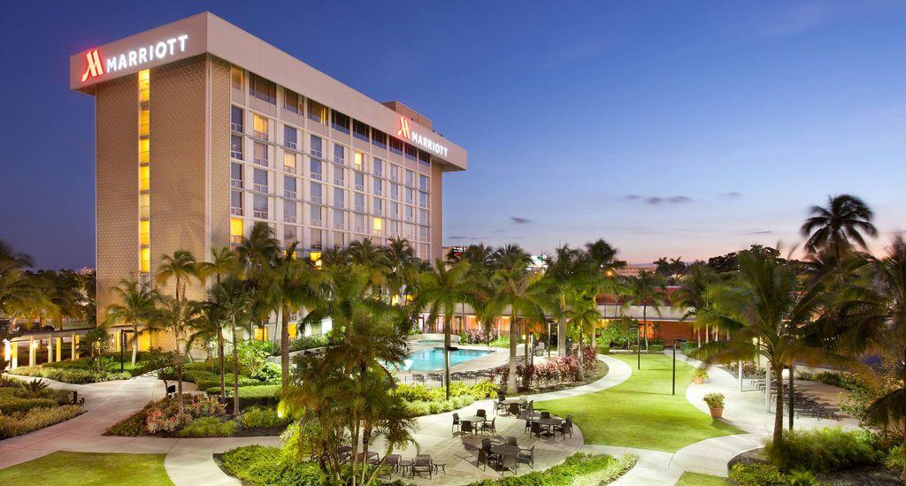 Miami Airport Marriott Fl 33126