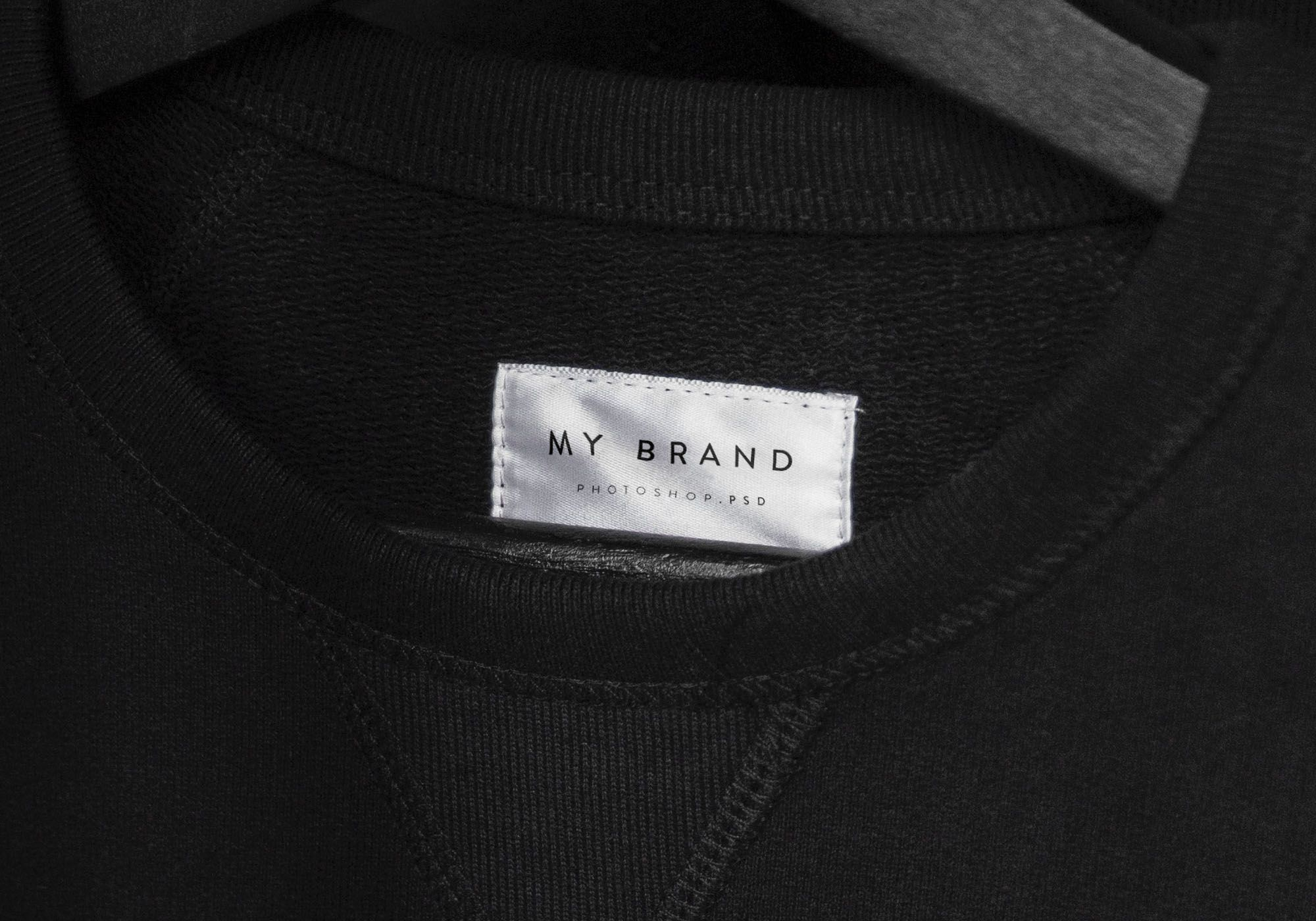 Download Clothing Label Mockup Clothing Labels Clothes Mockup Free Clothing Mockup