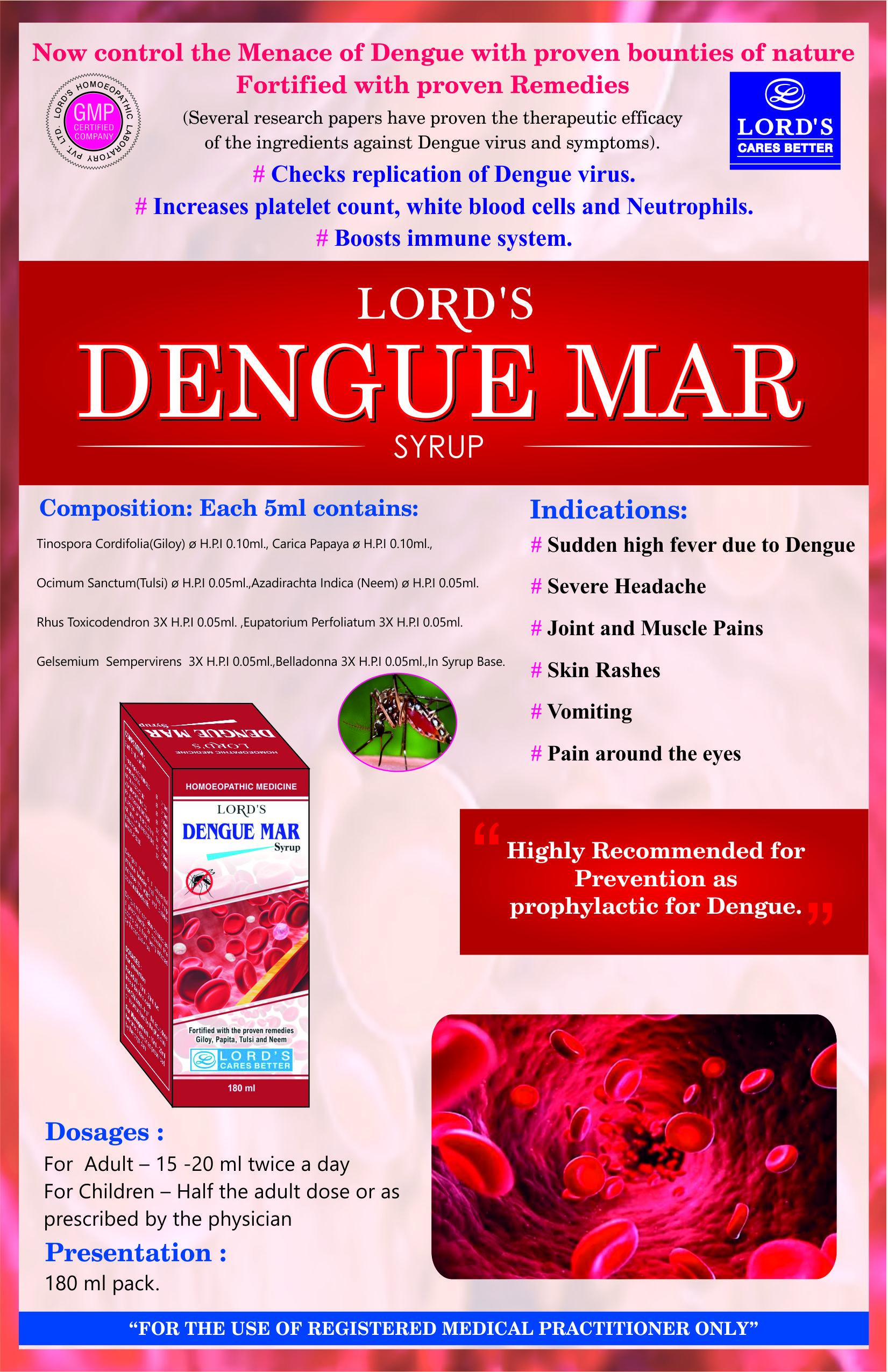 Homeopathy Medicine For Dengue Fever