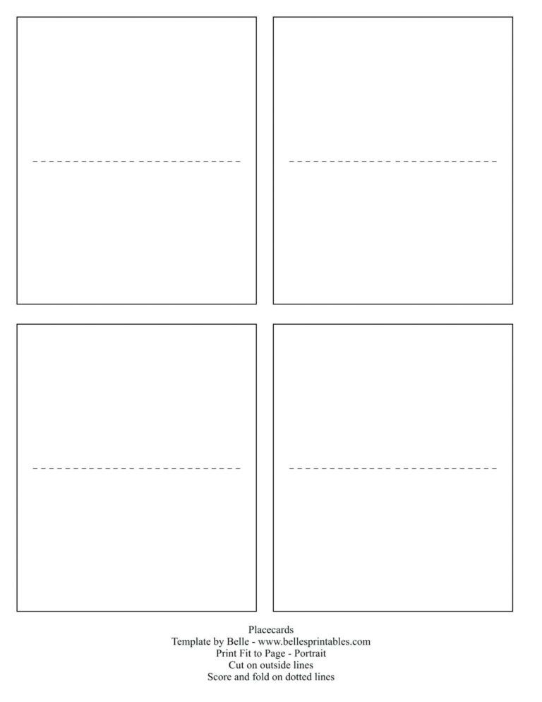 004 Template Ideas Free Printable Tent Cards Templates Table Throughout 11 Blank Tent Ca In 2021 Free Place Card Template Place Card Template Card Templates Printable
